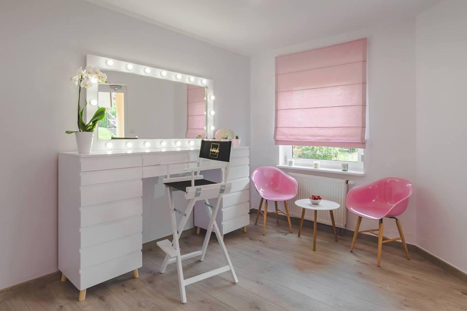 Rewelacyjny Lustra do makijażu, lustro do wizażu, toaletki do makijażu, panele LED NG01