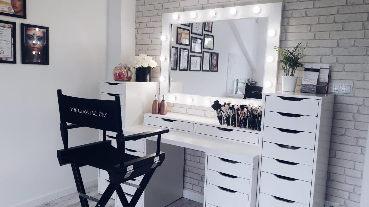 Wspaniały Lustra do makijażu, lustro do wizażu, toaletki do makijażu, panele LED KK45
