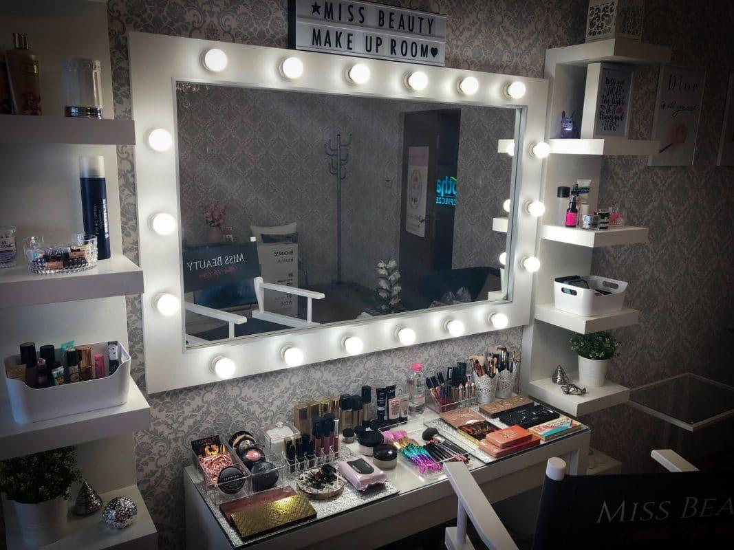 Masywnie Lustra do makijażu, lustro do wizażu, toaletki do makijażu, panele LED VR98