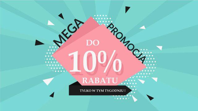 Promocja 10% na lustra do makijażu